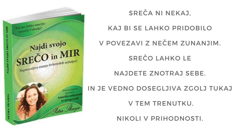 Petra Škarja: Najdi svojo srečo in mir